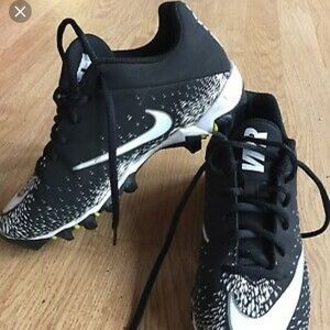 Youth Nike Vapor- Kids Football Cleats Black